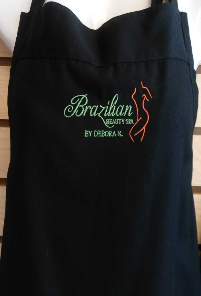 Embroidery On An Apron