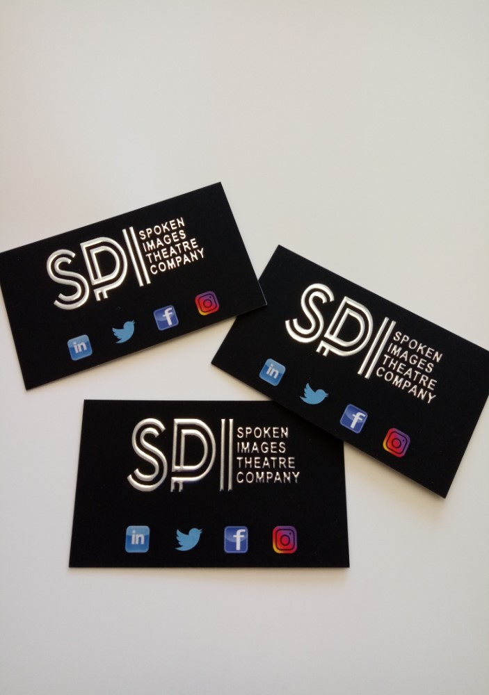 Raised Foil Luxury Business Cards